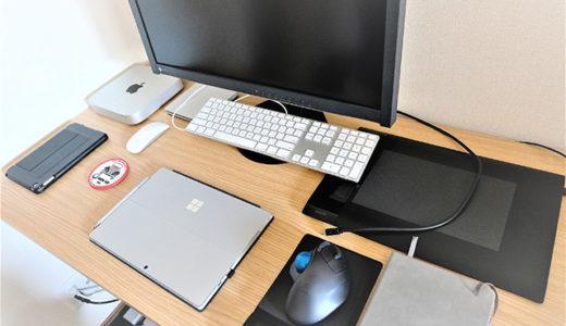 ニトリのパソコンデスク「プレフェ」レビュー|高さ調節もできてコスパ抜群