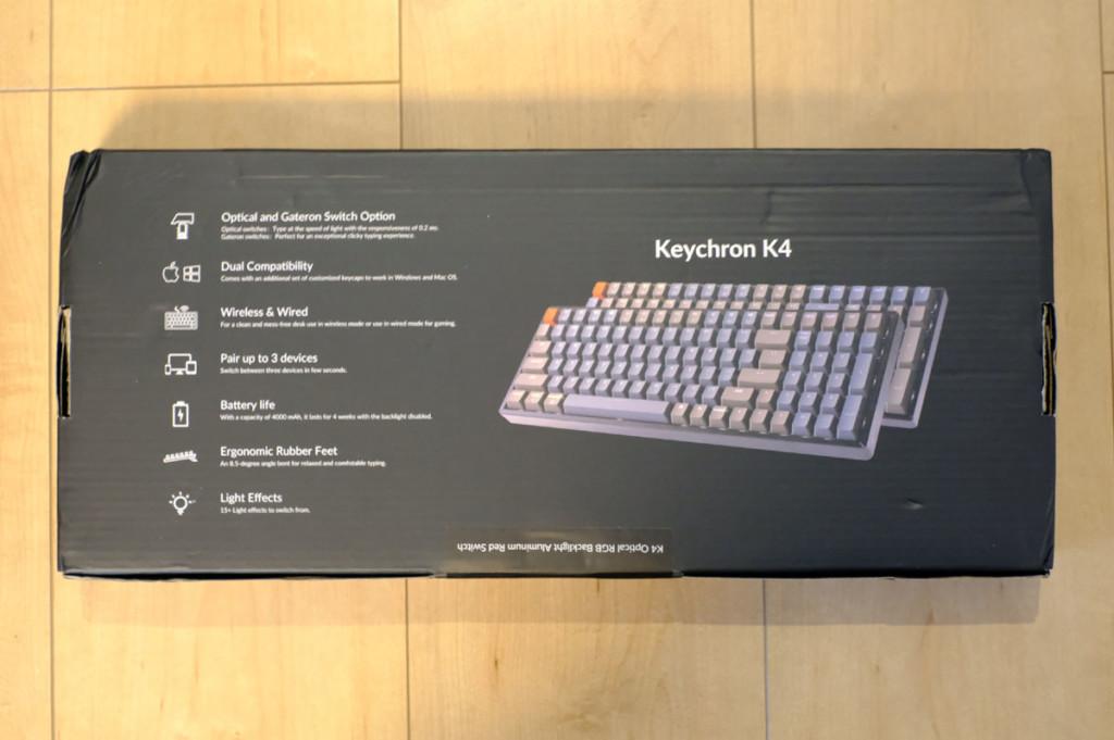 Keychron(キークロン) K4レビュー |Windows機で1ヶ月使ってみた